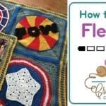 How to Add Fleece to Crochet Blankets + Video Tutorial + Pictorial Tutorial