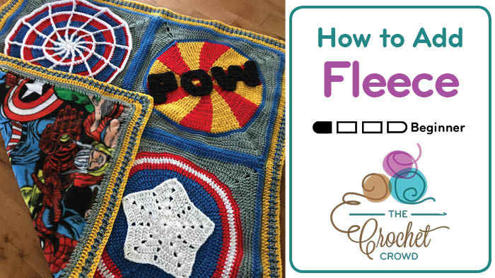 How to Add Fleece to Crochet Projects