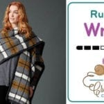 Crochet Blanket Plaid Ruana + Tutorial