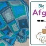 Crochet Big Blocks Modern Granny Afghan Pattern