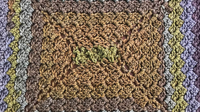 Crochet C2C Rectangle x 4