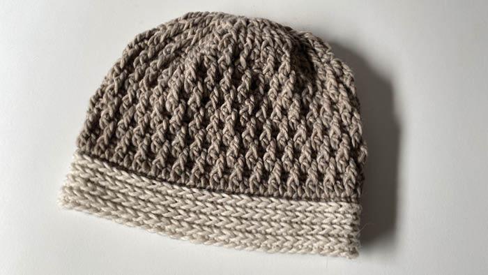 Crochet Easy Ripple Hat by Laura Jean