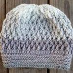 Crochet Easy Ripple Hat