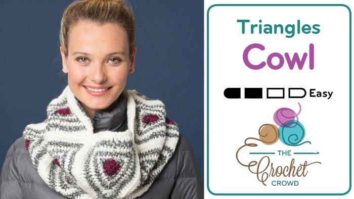 Crochet Triangles Cowl