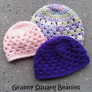 20 Granny Square Beanies