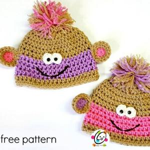 21 Baby Monkey Beanies