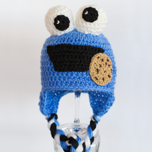 24 Cookie Monster Baby Hat