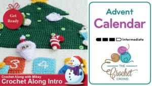 Crochet Advent Calendar Crochet Along