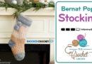 Crochet Bernat Pop! Stocking