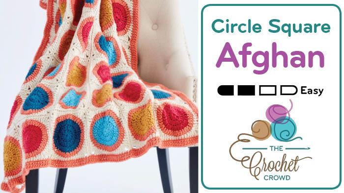 Circle Square Afghan