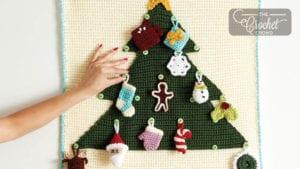Crochet Advent Calendar Mounting