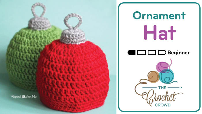 Crochet Ornament Hat for All Ages