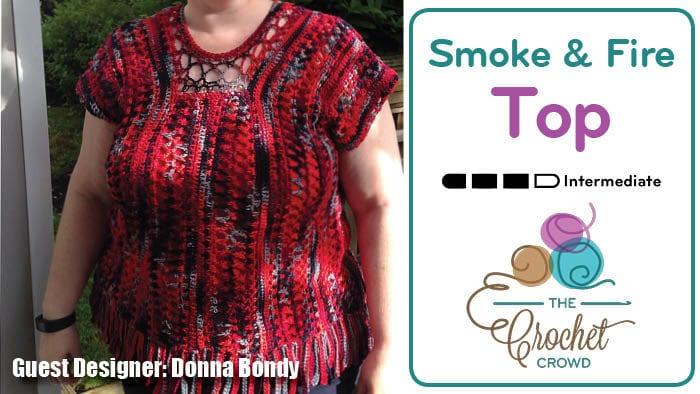 Donna Bondy - Smoke & Fire Top