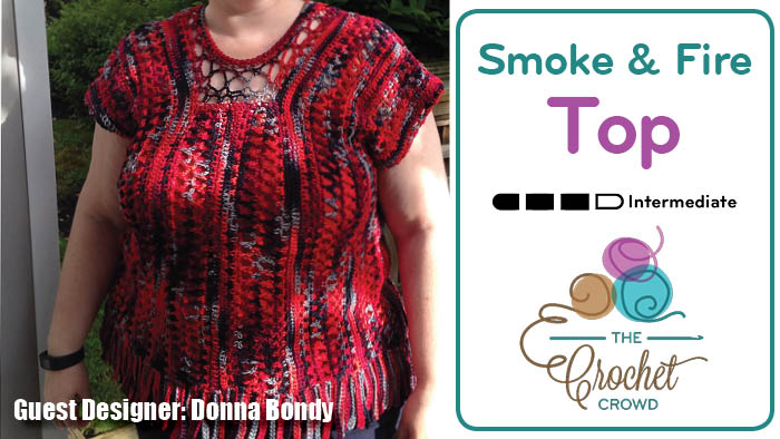 Donna Bondy - Smoke & Fire Top