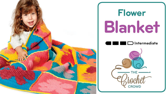Crochet Flower Blanket