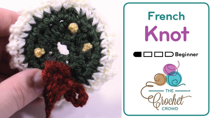 Learn to Embroider French Knot