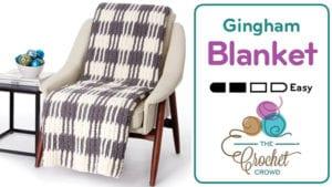 Crochet Gingham Blanket