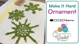 Make It Hard Ornament Recipe