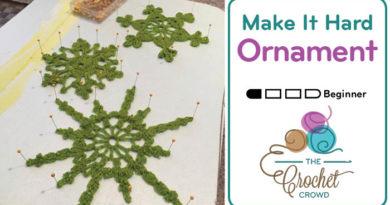 Make It Hard Ornament Recipe
