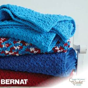 Crochet Pebble Stitch Throw