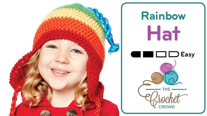 Crochet Bright & Merry Hat Pattern