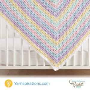 Crochet Baby Squares Blanket