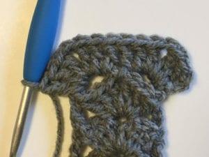 Crochet Modern Granny Winter Scarf by Jeanne Steinhilber