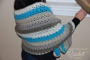 Crochet 2 Cake Shawl by Jeanne Steinhilber