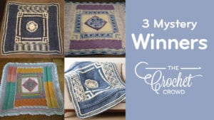 3 Bernat Blanket Mystery Winners