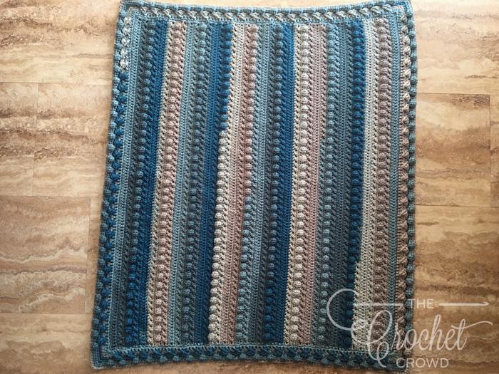 Crochet Little Boy Blue Baby Blanket The Crochet Crowd