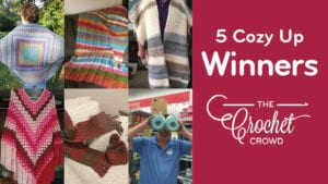 Crochet 5 Cozy Up Winners