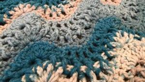 Crochet Breaking Waves Afghan