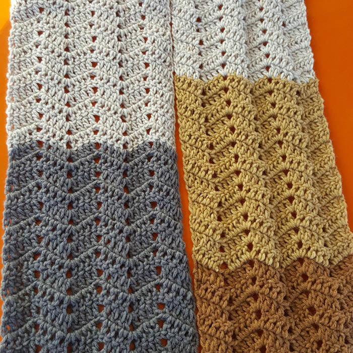 Crochet Cool Waves Scarf Pattern The Crochet Crowd,Glass Noodles Wide