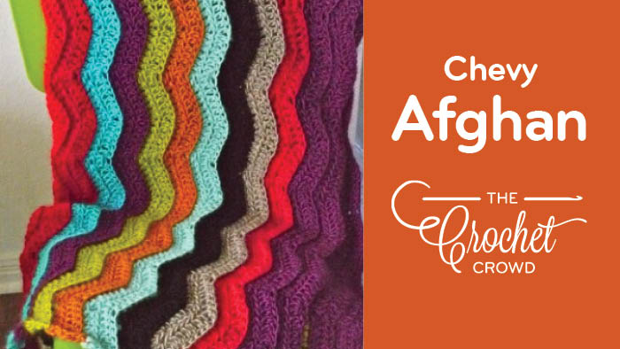 Crochet Chevy Afghan