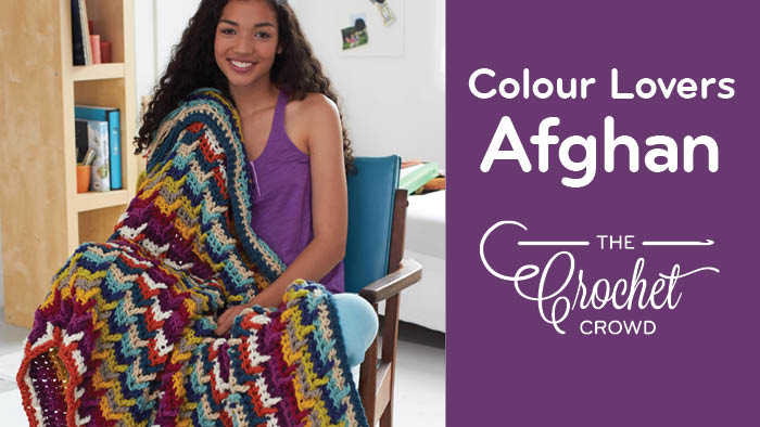 Crochet Colour Lovers Afghan