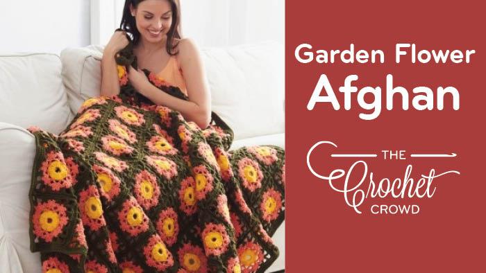 Crochet Garden Flowers Afghan