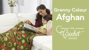 Crochet Granny Colour Afghan