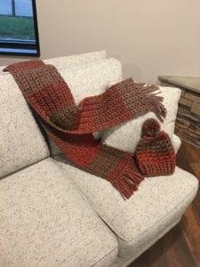 Crochet Winter Set - Anna from KY