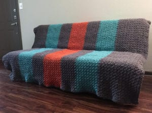 Crochet Hibernate Blanket: Esther from TX