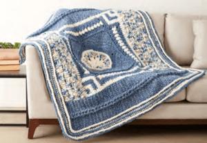 Bernat Blanket Stitch Along: Original Sample