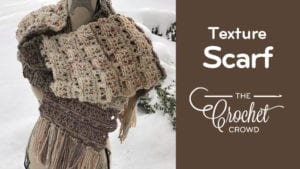 Crochet Texture Scarf