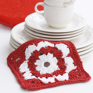7 Valentine Dishcloth