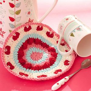 8 Be My Valentine Dishcloth