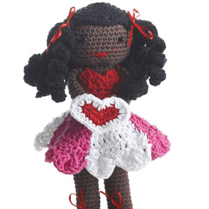 9 Valentines Day Lily Doll