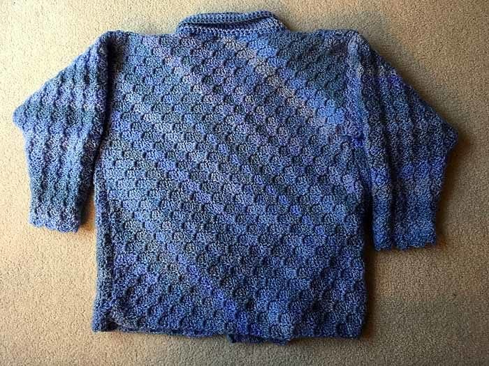 Crochet C2C Cardigan by Donna Bondy