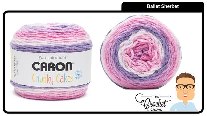 Caron Chunky Cakes Ballet Shebert