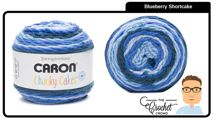 Caron Chunky Cakes Blueberry Shortcake