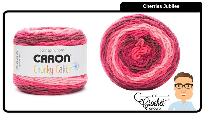 Caron Chunky Cakes Cherries Jubilee