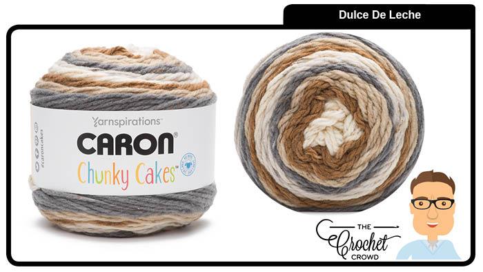 Caron Chunky Cakes Dulce De Leche