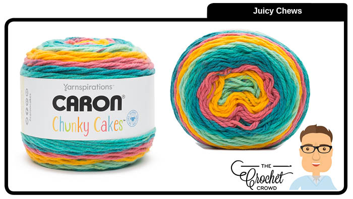 Caron Chunky Cakes Juicy Chews